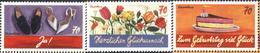 Mint  Greetings Stamps 2016 From  Germany - [7] République Fédérale