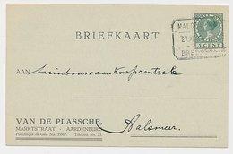 Treinblokstempel : Maldechem - Breskens D 1926 - Periode 1891-1948 (Wilhelmina)