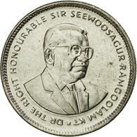Monnaie, Mauritius, 20 Cents, 2010, TTB, Nickel Plated Steel, KM:53 - Maurice