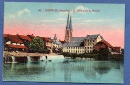 Sarralbe / La Sarre Près Du Moulin - Sarralbe