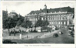 G32 / CPA LIEGE PLACE SAINT LAMBERT NEUVE NON VOYAGEE - Luik