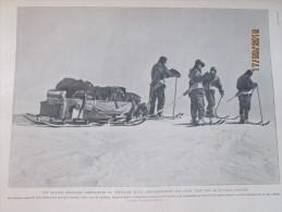 1913 Les Heros Du Pole Sud Antarctique   Capitaine Scott South Pole  Amundsen Terra Nova - Vieux Papiers