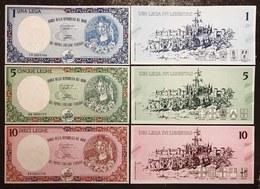 Banca Della Repubblica Del Nord 10 +  5 + 1 LEGHE 1993 Pordenone Legnago Gorizia Alassio Fiorenzuola D'arda Lotto 2255 - 100 Lire