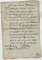 VP13.320 - ANGOULEME 1781 - Quittance - Manuscripts