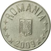 Monnaie, Roumanie, 10 Bani, 2009, Bucharest, TTB, Nickel Plated Steel, KM:191 - Roumanie