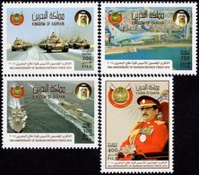 Bahrain - 2018 - 50th Anniversary Of Bahrain Defence Forces - Mint Stamp Set - Bahrein (1965-...)