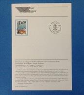 ITALIA 1997 BOLLETTINO ILLUSTRATIVO NUOVO N. 26 CENTENARIO LEGA NAVALE - 6. 1946-.. Republic
