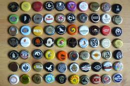 70 Capsules De Bouteilles De Bière - Toutes Différentes - Tous Pays (voir Scans) - Beer