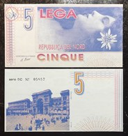 Repubblica Del Nord 5  LEGHE   Lotto 2319 - [ 1] …-1946 : Kingdom