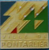 HH....77......ECUSSON........PONTARLIER..............sous-préfecture Du Département Du Doubs. - Villes