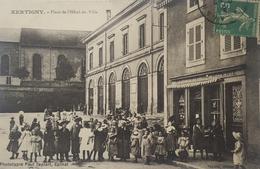 Xertigny , Place De L'hôtel De Ville - Xertigny