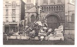 Anvers-Antwerpen-1913- Standbeeld-Monument Baron Dhanis (expédition Congo-Belge)-Chocolat Jean Noppe-Frans à Gauche - Antwerpen
