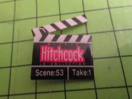 915c Pin's Pins / Beau Et Rare / THEME CINEMA : CLAP DE FILM HITCHCOCK - Photography
