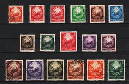 1952 -  SERIE COURANTE, MI No 1370/1384  (5) - 1948-.... Republiken