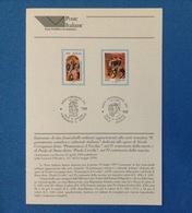 ITALIA 1997 BOLLETTINO ILLUSTRATIVO NUOVO N. 32 PATRIMONIO ARTISTICO POMARANCIO IL VECCHIO PAOLO UCCELLO - 6. 1946-.. Republic