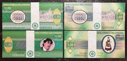 Banca Federale Della Padania 10000 + 50000  LEGHE   Lotto 2328 - [ 1] …-1946 : Kingdom