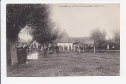 CPA 62 CALONNE SUR LA LYS Le Pont De La Neuve Voie - Other Municipalities
