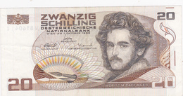AUTRICHE  20  Schilling  1985 . - Autriche