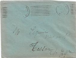 PARIS XIII PP 1930 PORT PAYE FLAMME KRAG - Poststempel (Briefe)
