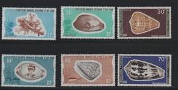 AFARS Et ISSAS  N° 422/427** - COQUILLAGES - Cote 33.50 € - Muscheln