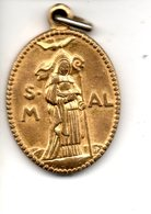 Medaille  ALDEGONDE TOT MESPELAER  Mespelare - Religion & Esotericism