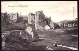 LUXEMBOURG - EDITION BELWALD 151 - RARE !! ** SOUVENIR DE BEAUFORT ** VOIR TEXTE CÔTE DROITE !! Très Beau - Cartoline