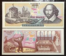 De La Rue Giori One Pass Completa  Shakespeare   Lotto 2427 - [ 2] 1946-… : Republiek