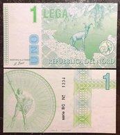 Repubblica Del Nord 1  LEGA   Lotto 2333 - 100 Lire