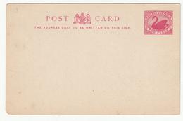Western Australia 2p Postal Stationery Post Card Unused B181101 - 1854-1912 Western Australia