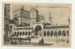 UDINE - PIAZZA VITT. EMANUELE E CHIESA S.GIOVANNI 1917   VIAGGIATA FP - Udine