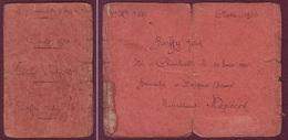LIVRET INDIVIDUEL 1900 - 127ème Régiment D'Infanterie - Recrutement Mézières - Documents