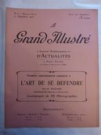 LE GRAND ILLUSTRE N° 37 Du 10/9/1905 LE SELF DEFENSE DE LA POLICE - - Newspapers