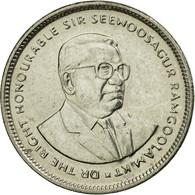 Monnaie, Mauritius, 20 Cents, 2007, TTB, Nickel Plated Steel, KM:53 - Maurice