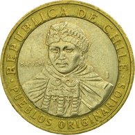 Monnaie, Chile, 100 Pesos, 2010, Santiago, TTB, Bi-Metallic, KM:236 - Chile