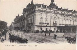 Cp , 75 , PARIS , La Gare Du Quai D'Orsay - Other Monuments