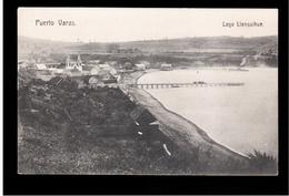 CHILE Puerto Varas Lago Llanquihue Ca 1910 OLD POSTCARD 2 Scans - Cile