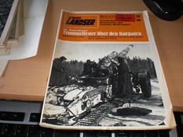 Der Landser Trommelfeuer Uber Den Karpaten 1944  Kampf Der 1 Deutscher Panzerarmee Gegen Die 4 Ukrainische Front Torpedo - Revistas & Periódicos
