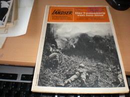Der Landser Der Todesberg Von Iwo Jima  Pazifischer Kriegsschauplatz 1945 Das Massaker Am Suribachi Yama Kleiner Kreuzer - Revistas & Periódicos