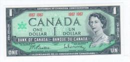 Canada 1 Dollars 1967 Pick 84a UNC - Canada
