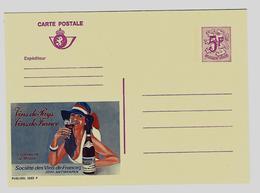 Publibel 2683 F - Vins De Pays - Collines De La Moure - Societe De France - Entiers Postaux