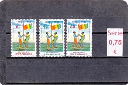 Ruanda  - Serie Completa Nueva**    - 1010149 - Ruanda