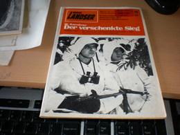 Der Landser Der Verschenkte Sieg  1941 Der Sturm Auf Leningrad Fand Nicht Statt  Unterseeboot U 117 - Revistas & Periódicos