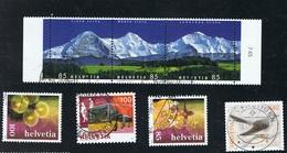 2006 Schönes Lot Mit Michel 1951  1957  Dreierstreifen 1966 - 1968  1991 - 1992 Gestempelt Siehe Scan - Schweiz