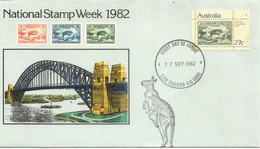 Pont De Sydney Harbour . FDC Australie  1982 - Ponti