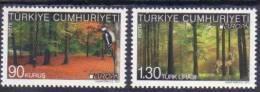 2011 TURKEY EUROPA - FORESTS MNH ** - Nuevos