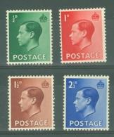 G.B.: 1936   Edward VIII Set      MH - 1902-1951 (Kings)