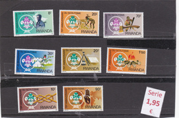 Ruanda  - Serie Completa Nueva**    - 1010185 - Ruanda
