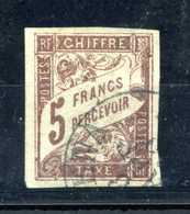 1884 EM. GENERALI TASSE N.17 USATO - Impuestos