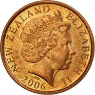 Monnaie, Nouvelle-Zélande, Elizabeth II, 10 Cents, 2006, TTB, Copper Plated - New Zealand