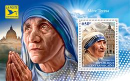Central Africa. 2018  Mother Teresa. (710b) Small - Mother Teresa